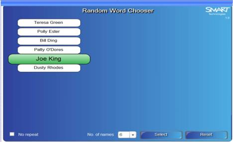 Random Word Chooser